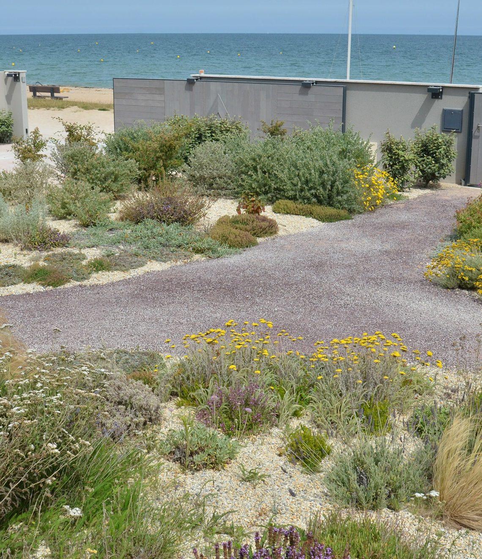 Le jardin en front de mer