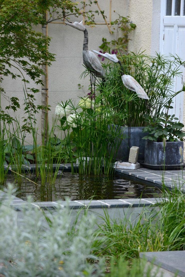 Bassin du Jardin de Flandre à Cabourg