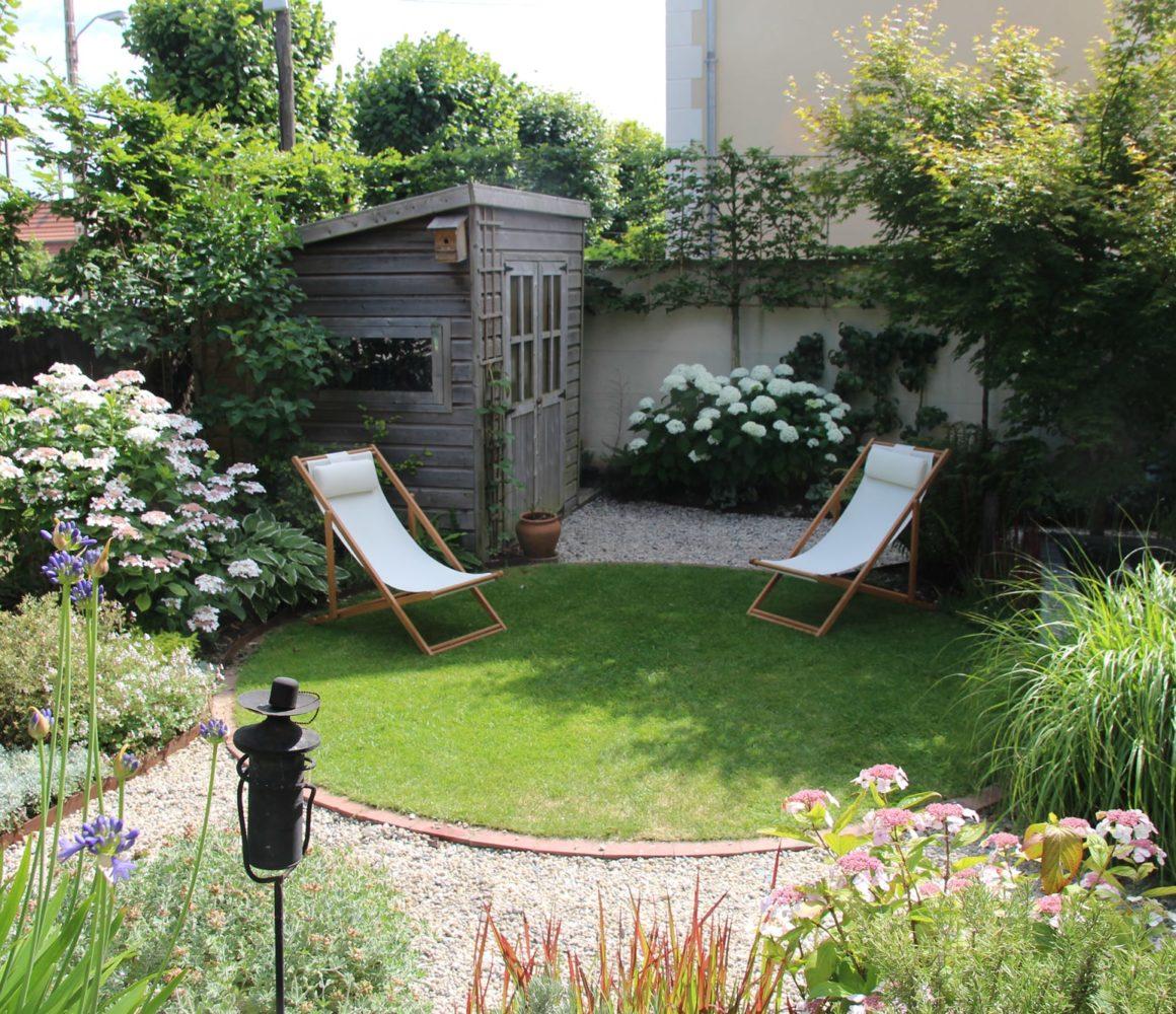 Abris de jardin dans le Jardin de Flandre
